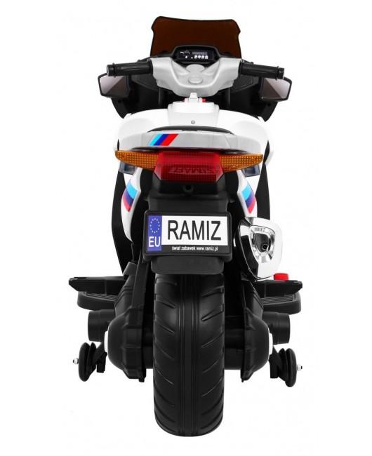 Elektrická motorka Sport Tourism biela